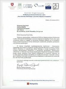 Konferencja Rola Kościoła Katolickiego w procesie integracji europejskiej