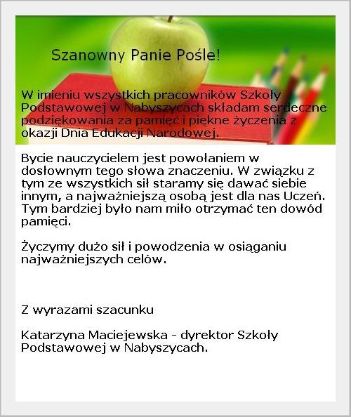 Szkoła Podstawowa w Nabyszycach