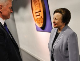 Konferencja: Shirin Ebadi i Andrzej Grzyb