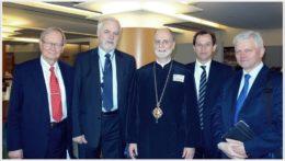 Biskup Borys Gudziak z wizytą w PE