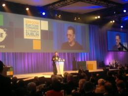 Daul, Juncker i Bono