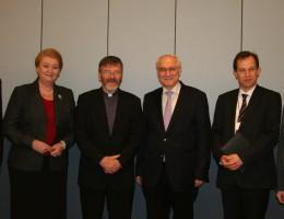 Spotkanie z sekretarzem generalnym Komisji Episkopatów Wspólnoty Europejskiej