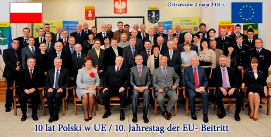 Z okazji 10 rocznicy wstąpienia do Unii Europejskiej