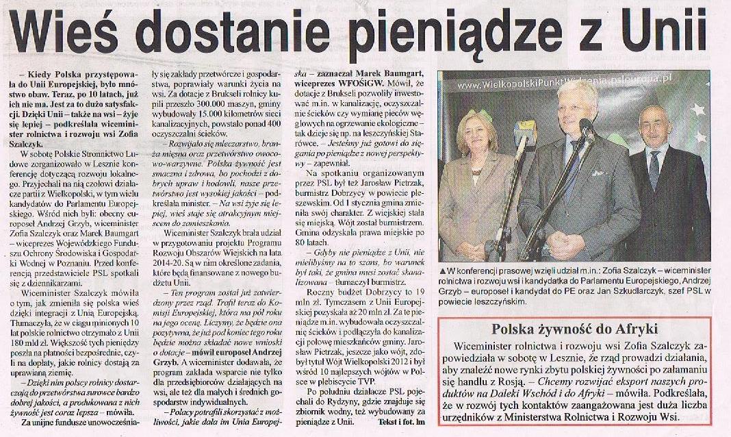 konferencja programowa Leszno 10.05.2014