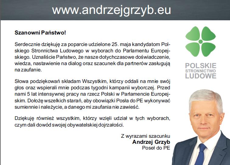 podziekowanie_wybory2014