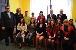 Studenci z Ukrainy w stolicy Wielkopolski
