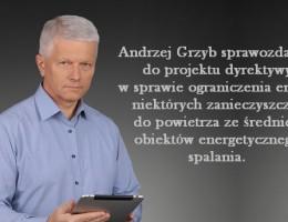Andrzej Grzyb sprawozdawcą!