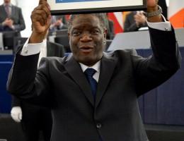 Wręczenie Nagrody im. Sacharowa doktorowi Denisowi Mukwege