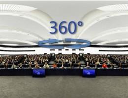 360° dookoła sesji plenarnej PE