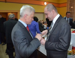 Spotkanie opłatkowe w Siedlikowie
