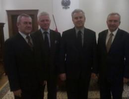 Z wizytą u trzech ministrów