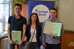 Pod moim patronatem: III Międzyszkolny Konkurs Wiedzy o Unii Europejskiej