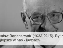 Odszedł Prof. Władysław Bartoszewski