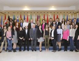 Studenci international relations Wydziału Nauk Politycznych i Dziennikarstwa UAM z wizytą studyjną w Brukseli na zaproszenie posła Grzyba