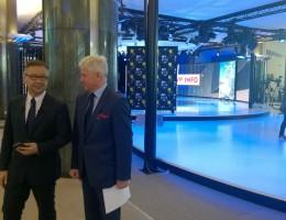 """""""Debata po Europejsku"""" w TVP Info"""