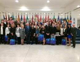 Poseł Andrzej Grzyb zaprosił do Parlamentu Europejskiego zwycięzców młodzieżowych konkursów w Wielkopolsce