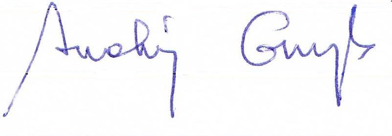 podpis kolor