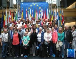 Wizyta w Strasburgu grupy samorządowców powiatu poznańskiego