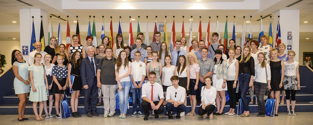 Visitors group Andrzej GRZYB