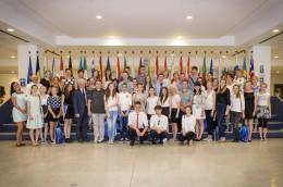 Laureaci konkursów z Wielkopolski odwiedzili Parlament Europejski