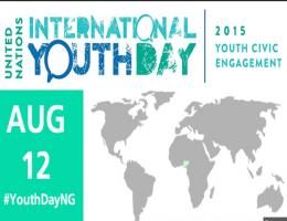 Międzynarodowy Dzień Młodzieży: 12 sierpnia 2015