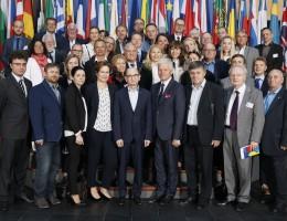 Pracownicy naukowi Wydziału Nauk Politycznych i Dziennikarstwa UAM  z wizytą w Strasburgu