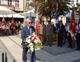 Obchody wybuchu II wojny światowej w Kaliszu z udziałem posła Andrzeja Grzyba