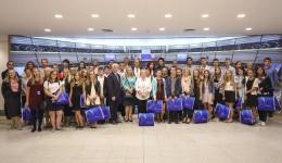 Młodzież z Wielkopolski w Parlamencie Europejskim
