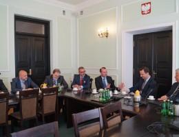 Manfred Weber, przewodniczący Grupy Europejskiej Partii Ludowej, spotkał się z polskimi Ludowcami
