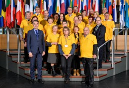Na zaproszenie posła Andrzeja Grzyba – przedstawiciele LGD z 5 unijnych krajów odwiedzili Strasburg