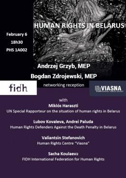 Zjednoczeni przeciwko karze śmierci na Białorusi – debata w Parlamencie Europejskim