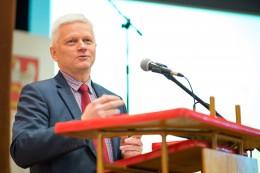 Spotkanie Andrzeja Grzyba z uczniami pilskich szkół ponadgimnazjalnych