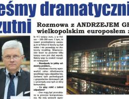 """Twój Tydzień Wielkopolski: """"Jesteśmy dramatycznie rozrzutni"""""""