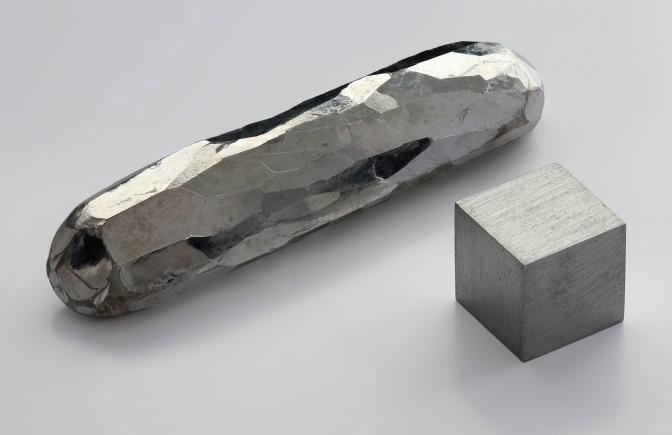 Cadmium, a crystal bar