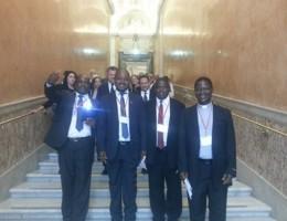 Audiencja u Ojca Świętego. Parlamentarzyści z wizytą w Watykanie.