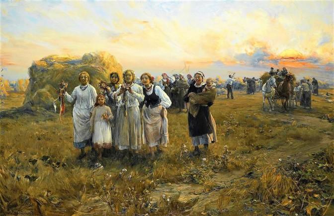 Wierusz-Kowalski_Dożynki_1910