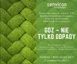 XXI Edycja ENVICON ENVIROMENT