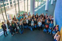 Laureaci konkursów z Wielkopolski w Brukseli