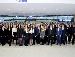 Studenci z Uniwersytetu Ekonomicznego z Poznania – Seminarium w Parlamencie Europejskim