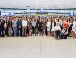 Laureaci konkursów z wizytą w Brukseli
