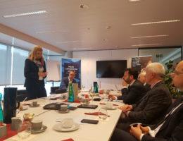 Rozmowa z europosłami nt. przyszłości i konkurencyjności europejskiego przemysłu