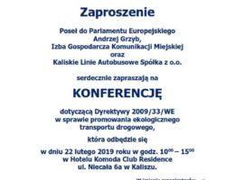Poseł Andrzej Grzyb z przedstawicielami Komunikacji Publicznej Wielkopolskich Miast o szansach i wyzwaniach związanych z dyrektywą UE o wspieraniu czystego ekologicznie transportu