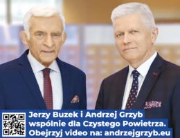 Andrzej Grzyb i Jerzy Buzek o czystym powietrzu i czystej energii dla Polski, dla Wielkopolski – podsumowanie co zrealizowano 2014-2019
