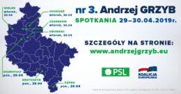 Spotkania z dr Andrzejem Grzybem –  29-30.04.2019r.
