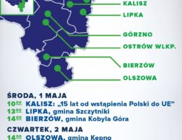 dr Andrzej Grzyb – spotkania 1-3 maja 2019r.
