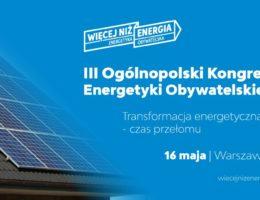 III Kongres Energetyki Obywatelskiej