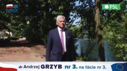 SPOT: poseł dr Andrzej Grzyb o 10 latach pracy w Parlamencie Europejskim dla Wielkopolski i zadaniach 2019-2024