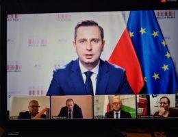 Konferencja prasowa z udziałem Władysława Kosiniaka-Kamysza 15.01.2021r.