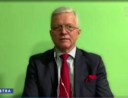 """""""Jaki będzie rok 2021 dla naszych portfeli?"""" Poseł Andrzej Grzyb na antenie TVP3 Poznań w programie """"Lustra"""" 04.01.2021r."""
