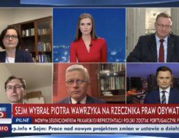 Poseł Andrzej Grzyb gościem programu Minęła 20 21.01.2021r.